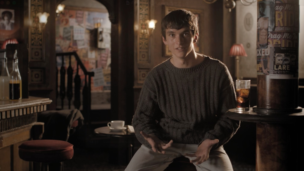 Fionn Whitehead in Queers - A Grand Day Out