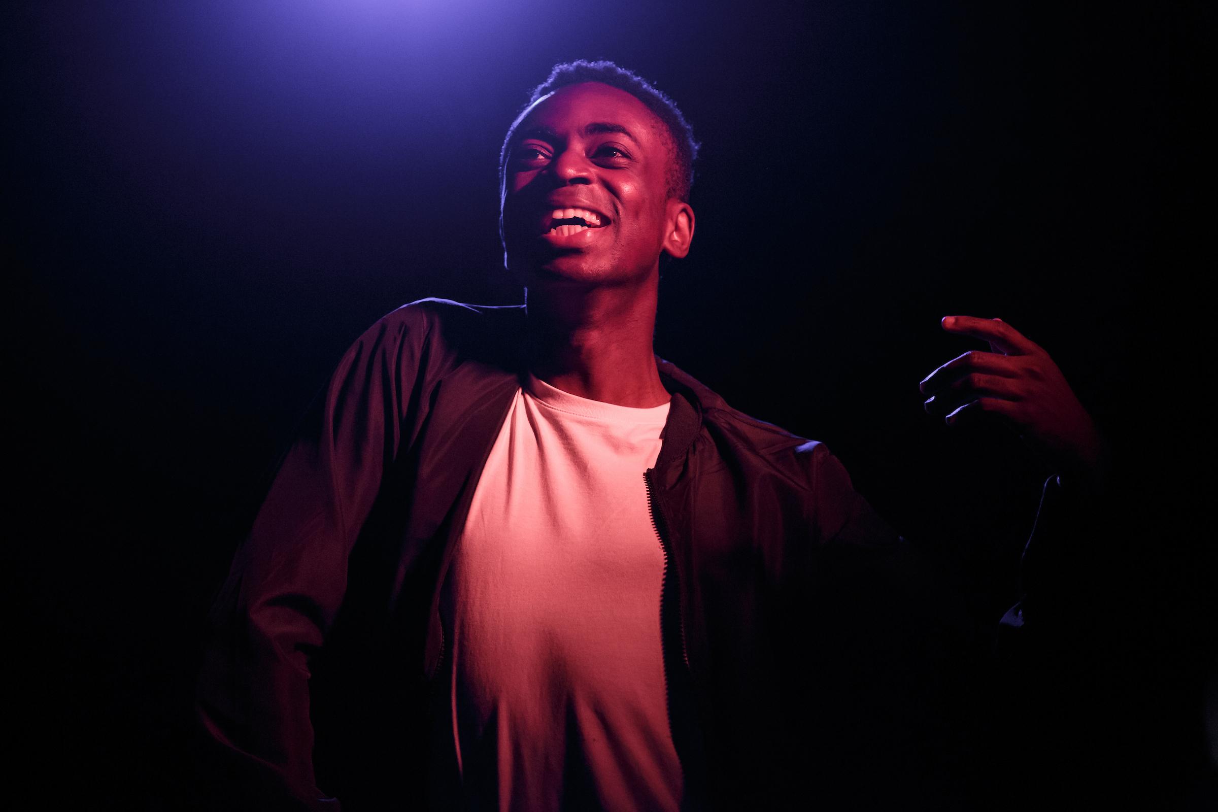Kwaku Mills in Dark Sublime
