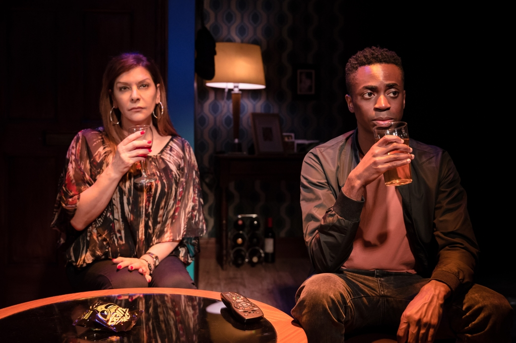 Marina Sirtis and Kwaku Mills in Dark Sublime